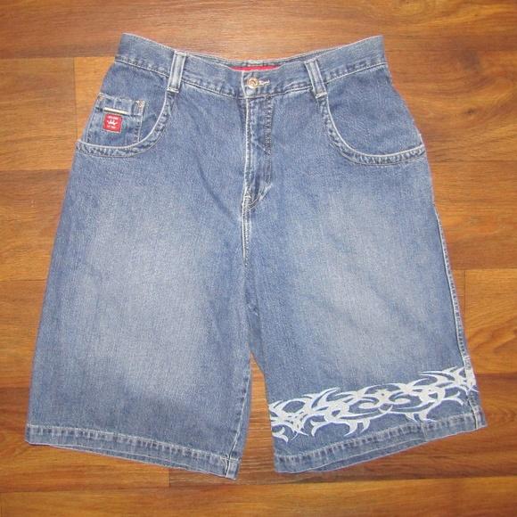 2d46808ede Jnco Shorts | Vintage Jean Short 90s Blue Classic 34 Denim | Poshmark